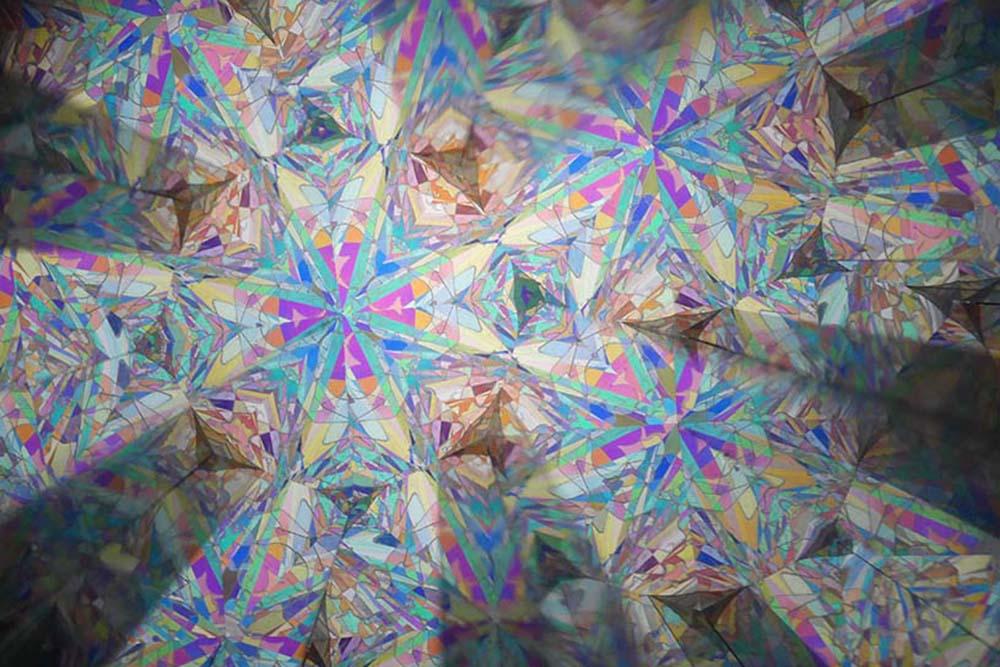 4角形ハーフミラー2